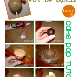 Pot of Gold Cake Pop