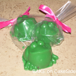 Cake Gems - Frogs