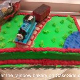 Stupendous Thomas Cake By Penny Stafford Cakeside Funny Birthday Cards Online Elaedamsfinfo