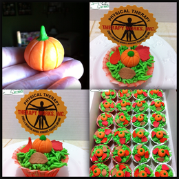 Fall Themed Cupcakes 2012