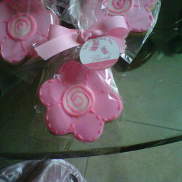 flowers cookie