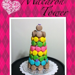 French Macaroon Tower