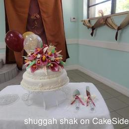 Thumb kenisha s wedding cake