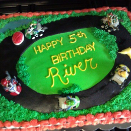 Stupendous Mario Kart Cake By Amy Weaver Cakeside Personalised Birthday Cards Sponlily Jamesorg