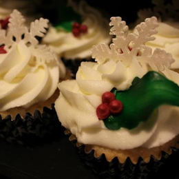 Winter Wonderland Wedding Cupcakes
