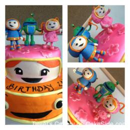 Pleasing Team Umizoomi Birthday Cake By Yahaira Morlas Tweet39S Cakery Personalised Birthday Cards Arneslily Jamesorg